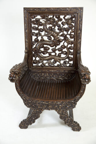 A 19 th C Chinese chair.