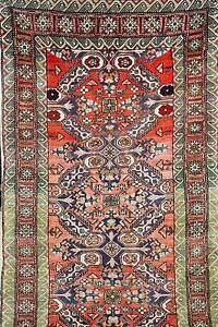 VERY RARE ANTIQUE HAND WOVEN TRIBAL PERSIAN QASHGHAI RUG CARPET Pyrmont Inner Sydney Preview