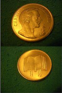 MEDAGLIA DORATA ANNI 1970 COMMEMORATIVA CHRISTIAN BARNARD. - Italia - MEDAGLIA DORATA ANNI 1970 COMMEMORATIVA CHRISTIAN BARNARD. - Italia