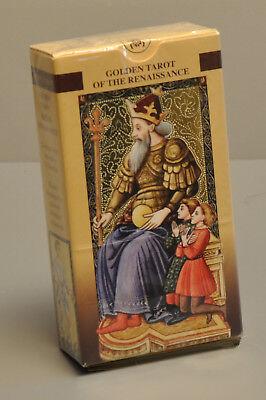 GOLDEN TAROT OF THE RENAISSANCE -