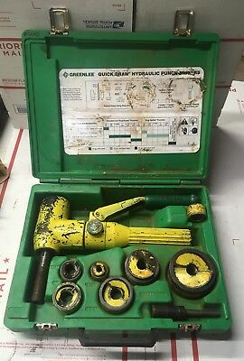 Greenlee 7906sb Quick Draw 90 Hydraulic Punch Driver Kit 12 - 2 7904 6240
