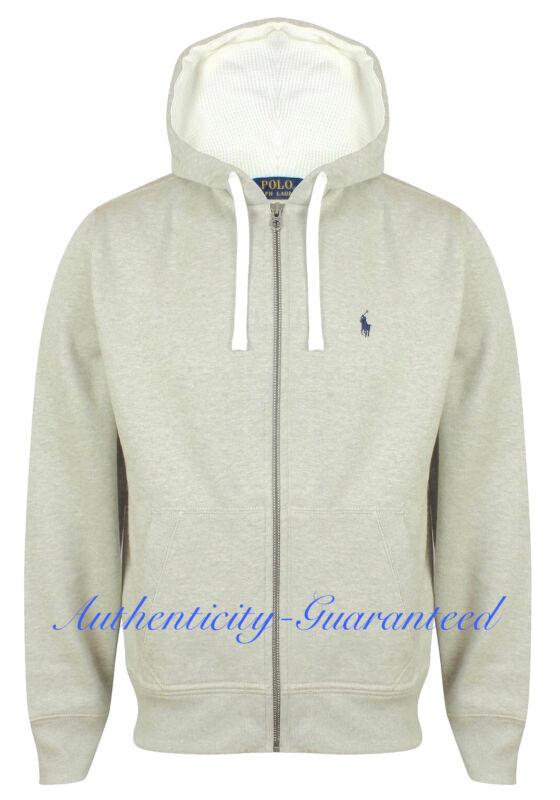 7ef489ffa Ralph Lauren Polo Fleece Hoody Light Grey S - XXL BNWT RRP £110 SALE ...