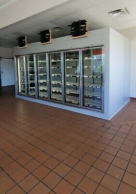 8x8x15 Reach Inwalk In Cooler With Refrigeration Units