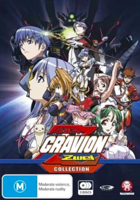 Gravion Zwei Collection (DVD, 3-Disc Set, 2005) New & Sealed D83