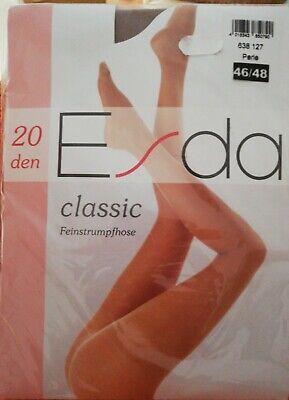 Fein Strumpfhose Esda classic 20 den, transparent, Farbe Perle, 46 48 NEU OVP  online kaufen