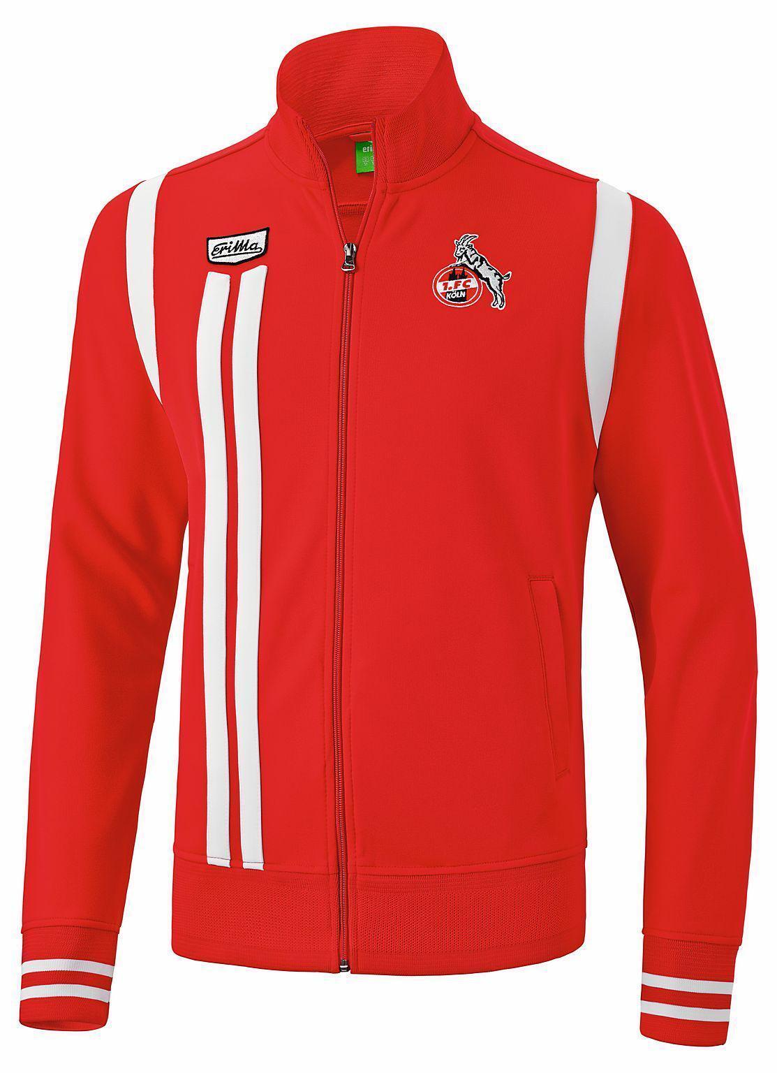 Erima 1. FC Köln Retro Jacke - Kinder Trainingsjacke - 250604