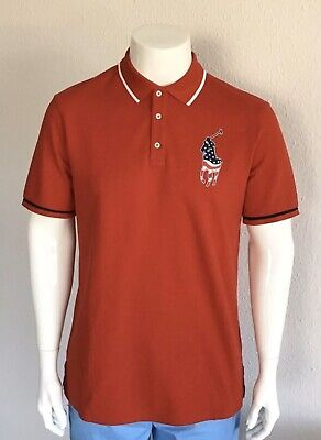 Polo Ralph Lauren Herren Poloshirt Gr. L rot Big Pony Logo online kaufen