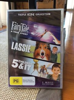Brand New In Plastic Seal - 3 Kids Movies DVD Ashtonfield Maitland Area Preview