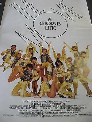 Chorus Line The Movie One Sheet Movie Poster Pbx672