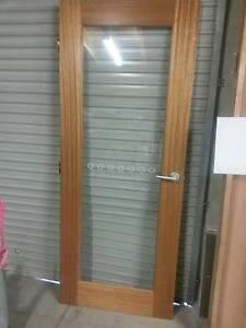 Corinthian Internal Door - WIN21 - Clear Glass Caloundra West Caloundra Area Preview