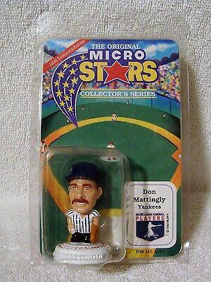 1995 The Original Micro Stars NY Yankees Don Mattingly MLB