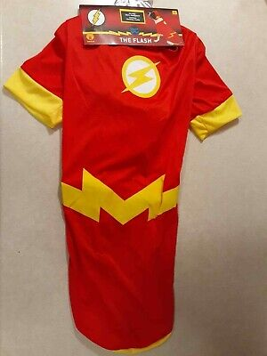 Superhero And Villains Costumes (Rubie's Costume DC Heroes and Villains Collection Pet Costume-Flash | Size)