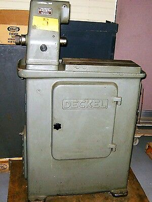 Deckel S1 Cutter Grinder For Parts