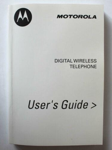 Motorola V60i Digital Wireless Telephone User