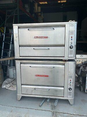 Blodgette Stackable Commercial Gas Pizza Ovens 2