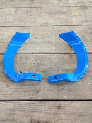 IGQN offset rotary tiller tines or blades for tractor tiller 10 mm bolt hole