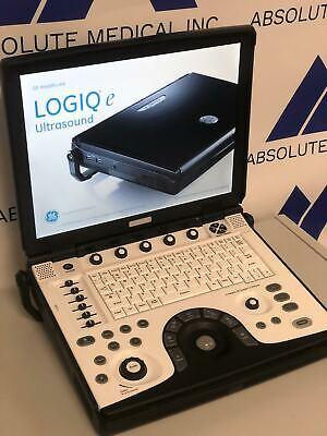 Beautiful Ge Logiq E Bt12 Dom 2012 Ultrasound Machine Perfect Condition