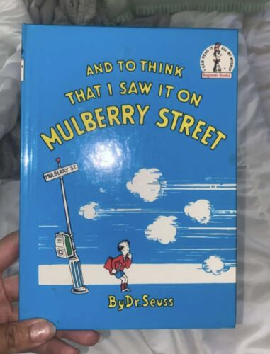 Dr Suess To Think That I Saw It - $110.00