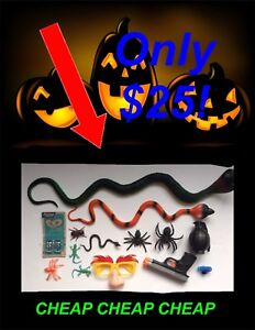 HUGE HALLOWEEN PROPS LOT!!! NEED GONE!!!