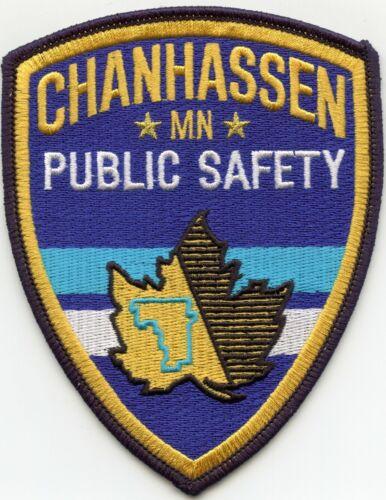 CHANHASSEN MINNESOTA MN PUBLIC SAFETY POLICE PATCH