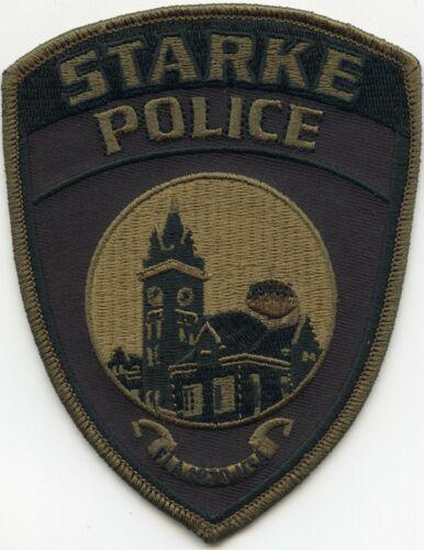 STARKE FLORIDA FL subdued POLICE PATCH