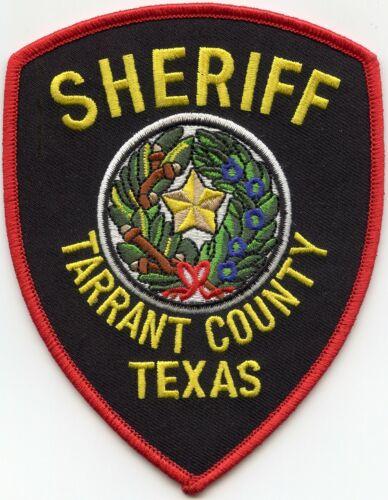 TARRANT COUNTY TEXAS TX SHERIFF POLICE PATCH