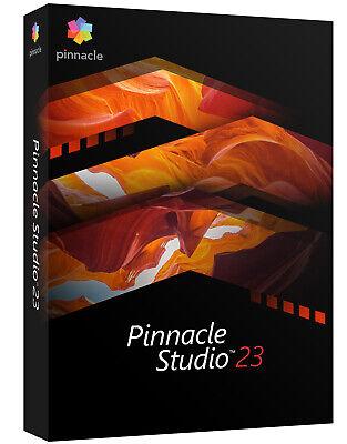 PINNACLE STUDIO 23 (2020) STANDARD -DEUTSCH- #BOX