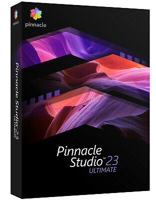 PINNACLE STUDIO 23 (2020) ULTIMATE -DEUTSCH- #BOX