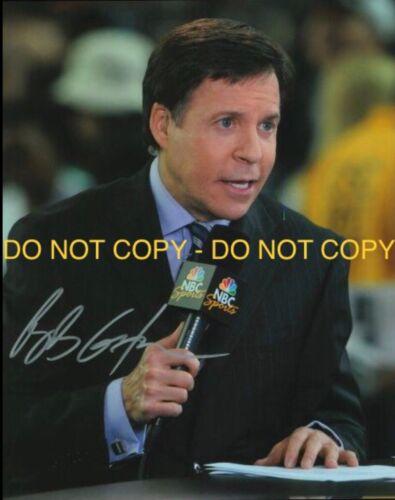 BOB COSTAS, ABC SPORTS, HAND SIGNED 8X10 PHOTO W/COA - $10.00