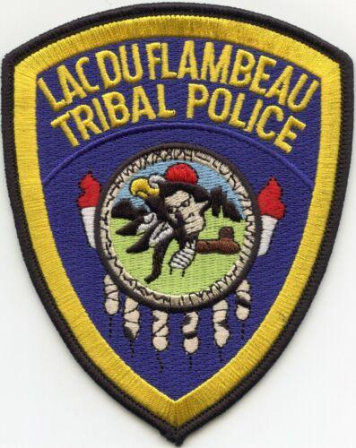 LAC DU FLAMBEAU WISCONSIN WI TRIBAL POLICE PATCH