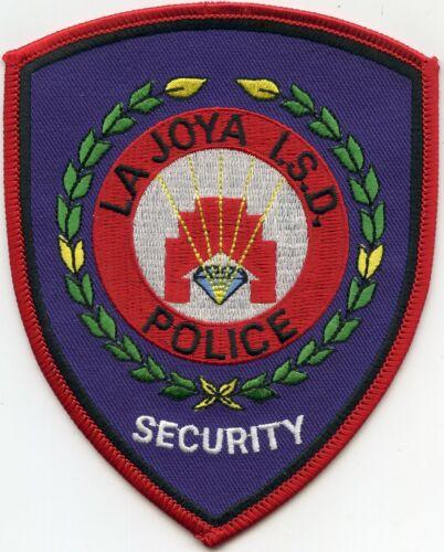 LA JOYA Independent School District ISD TEXAS TX SECURITY - POLICE PATCH