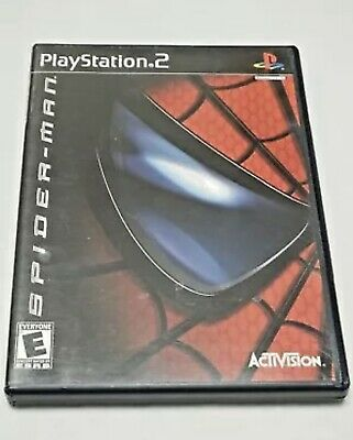 Spider-man (Sony PlayStation 2, 2002) PS2, Complete, Very good condition!