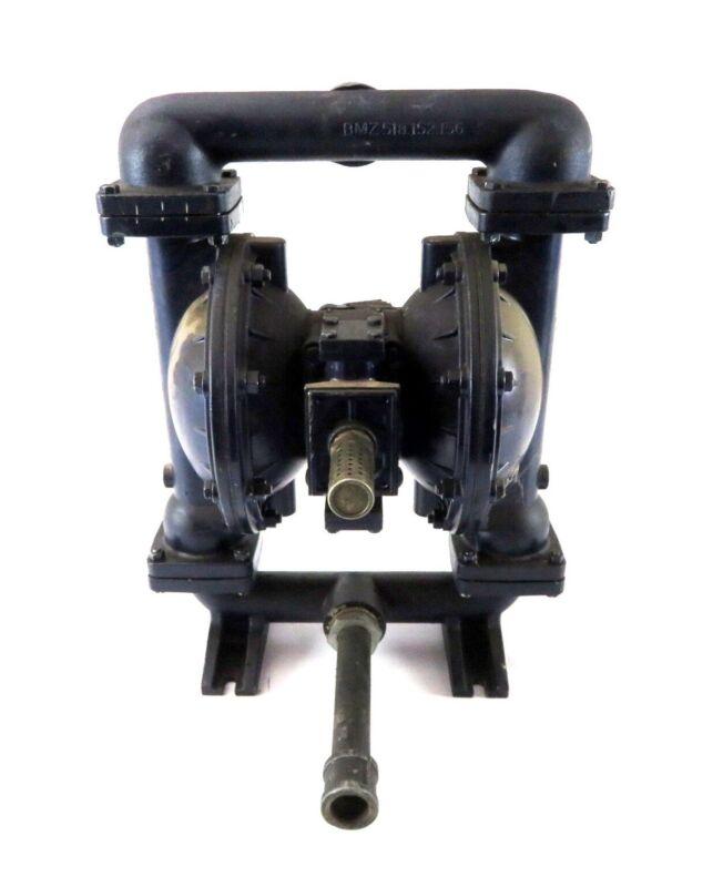 "Lincoln 85621 Series B 1-1/2"" NPT Aluminum Air-Operated Double Diaphragm Pump"