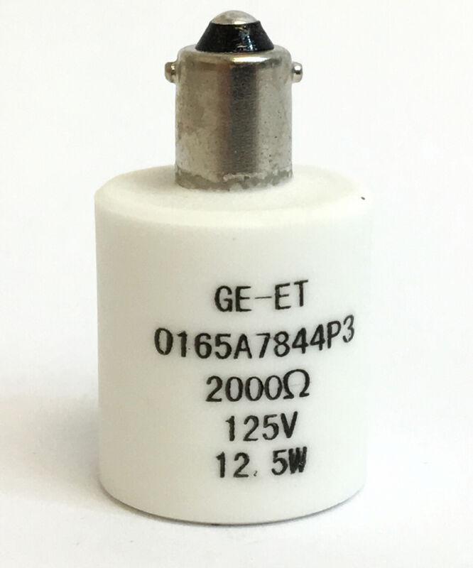 "General Electric GE Pilot Light Resistor 1/4"" Bayonet 0165A7844P3 Authentic OEM"