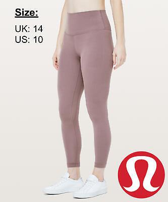 """Lululemon Women's Align Pant 25"""" NULU Leggings - Antique Bark - UK 14 US 10"""