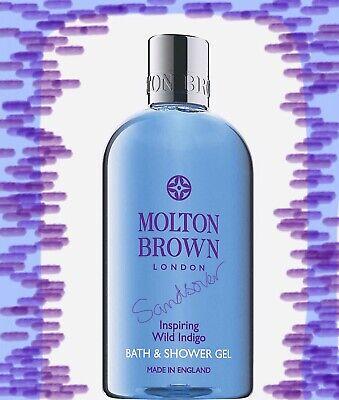 Molton Brown Inspiring Wild Indigo Bath & Shower Gel 300ml new