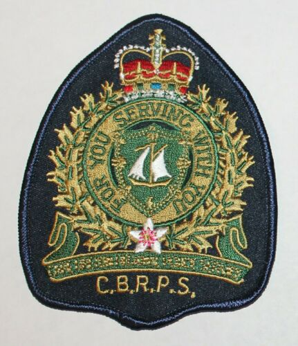 CAPE BRETON REGIONAL POLICE SERVICE CBRPS Canada Canadian PD patch Version 3