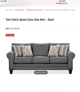Brand new Tula sofa bed from The Brick