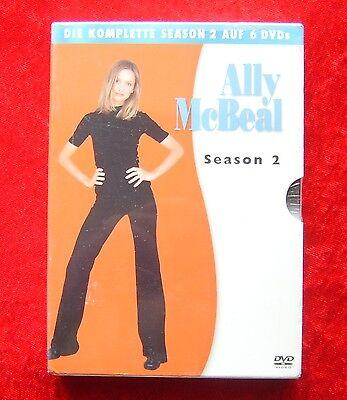 Ally McBeal Die komplette Staffel 2, DVD Box Season, Neu