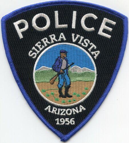 SIERRA VISTA ARIZONA AZ POLICE PATCH