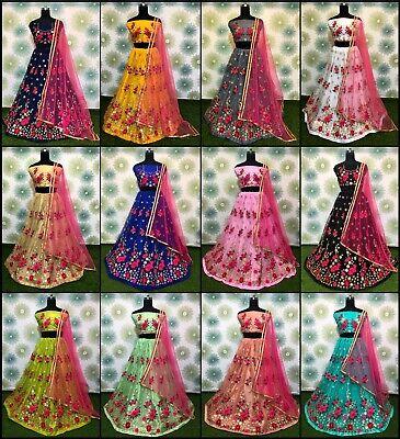 Lehenga Choli Wedding Indian Lengha Designer Party Bridal Wear Pakistani -