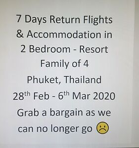 Bargain Family Holiday to Thailand 7nights accom and flights