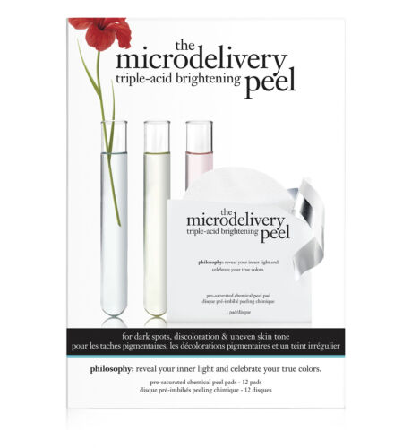 Philosophy The Microdelivery Triple-Acid Brightening Peel 12 Cnt pads New