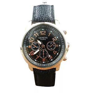 Men's Casual Geneva Quartz Watch