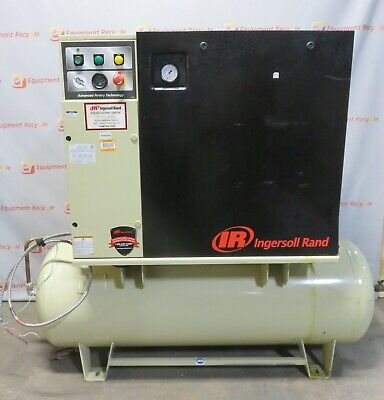 Ingersoll Rand Up6-7.5-125 Rotary Screw Air Compressor 3 Phase 80 Gl 21278 Hrs