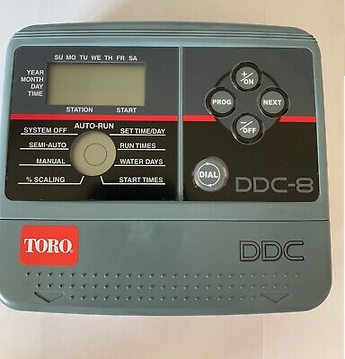 Toro DDC Series Irrigation Controller Indoor 6 Stations
