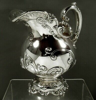 Caldwell Sterling Pitcher c1925 WEIGHS 45 OZ.