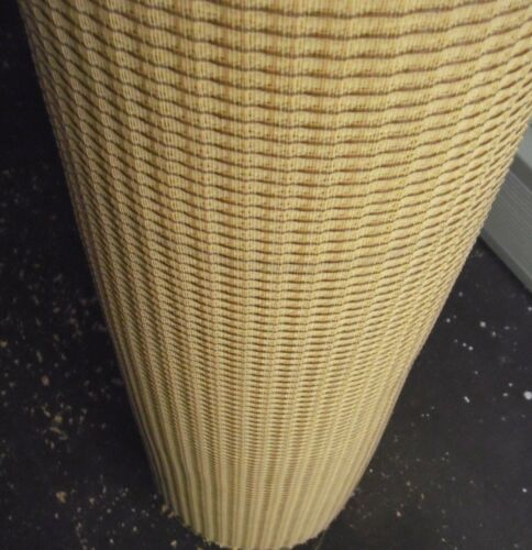 """Fender Wheat Grill Cloth for Amps.U.S.A.made 2nds 16"""" high x 36"""" wide"""""""