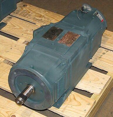Refurbished Reliance Electric 10 HP Super RPM DC Motor - ID # 2KA683277-UF