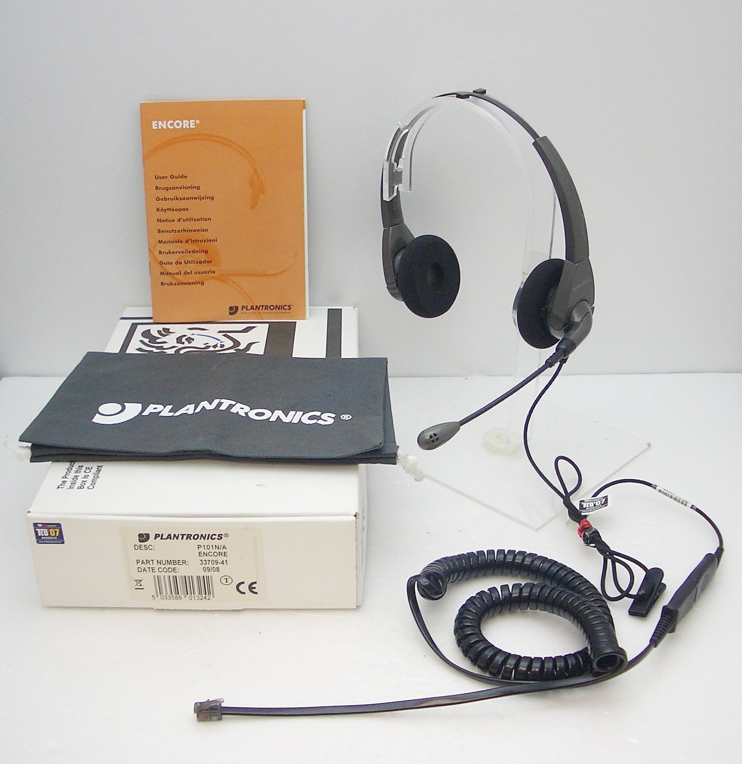 Plantronics P51N-U10P NC Headset for Avaya Aastra Nortel Polycom Toshiba Mitel